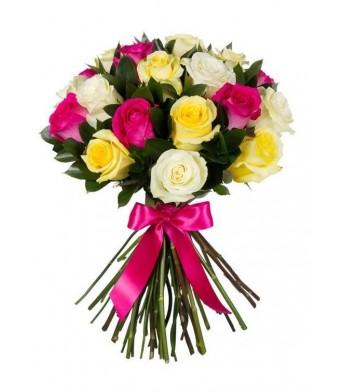 Փունջ 450 (վարդեր 21 հատ, 70 սմ)