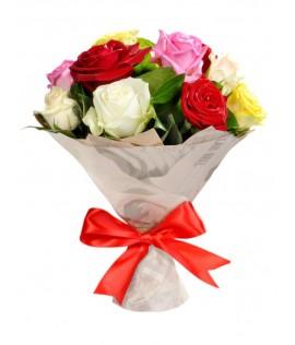 Փունջ 448  (վարդեր 11 հատ, 50սմ)