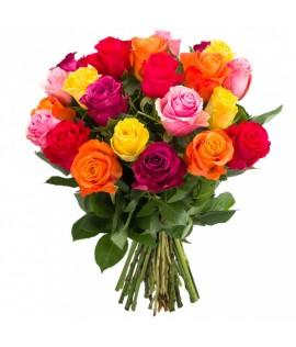 Փունջ 446 (Քենիական վարդեր 21 հատ, 50 սմ)