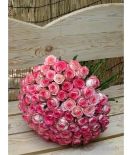 Միշտ սիրահարված  101 հատ վարդ