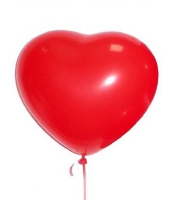 Գազով Փուչիկ Սիրտ (1 հատ)